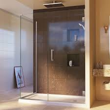39 Shower Door Dreamline Unidoor Plus 34 3 8 In X 39 1 2 In X 72 In Semi