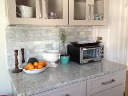 the beauty of tumbled marble backsplash u2014 great home decor