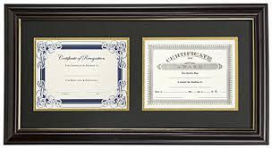 frames for diplomas dual vertical diploma frame 2 8 5 x 11 certificates