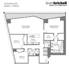 Icon Brickell Floor Plans Icon Brickell We Rent Brickell