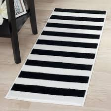 Striped Runner Rug Black Striped Sr Carpet Carpet Vidalondon