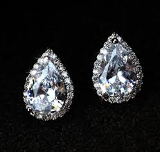 original diamond drop ellangelcollection jewelry collection water drop shaped