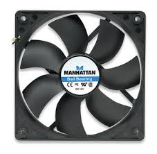 computer power supply fan manhattan 703307 case power supply fan 120 mm 3 pin ball