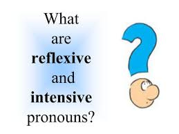 intensive u0026 reflexive pronouns ppt video online download