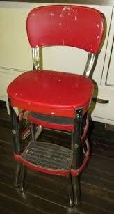 chrome step stool foter
