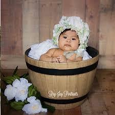 Baby Bathtub Prop Baby Hoop Photograpy Prop Newborn Or Baby Prop Floral Hoop