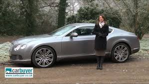 continental bentley bentley continental gt review carbuyer youtube