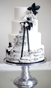 black and white wedding cakes 95 stunning black and white wedding cakes happywedd