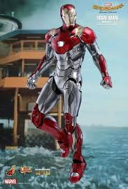 1 6 spiderman homecoming ironman mark xlvii 47 diecast toys