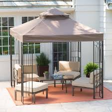 Backyard Canopy Covers Amazon Com Coral Coast Prairie Grass 8 X 8 Ft Gazebo Canopy