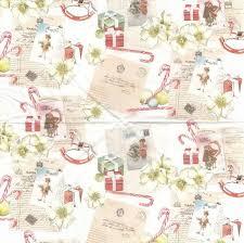 serviette en papier vintage 2 serviettes papier noël vintage passioncreationcollection
