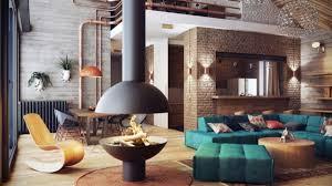 wohnzimmer offen gestaltet kamin offen wandgestaltung mit farbe wände gestalten wohnzimmer