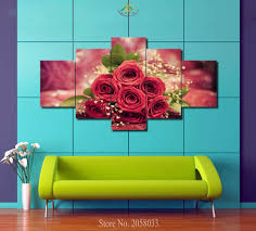 Home Decor Wall Paintings Online Get Cheap White Rose Pictures Aliexpress Com Alibaba Group