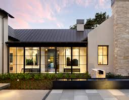 stylishly sleek and white this weatherboard home takes a modern