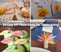 diy place cards 24 simple diy ideas for thanksgiving place cards amazing diy