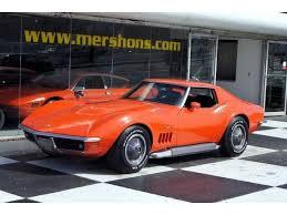 1969 corvette coupe 1969 chevrolet corvette coupe 427 390hp 4 speed monaco orange