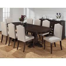 jofran 634 102b 102t 8x634 422kd grand terrace 9 piece dining grand terrace 9 piece dining table upholstered chair set