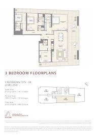floor plans mada residences downtown dubai by artar