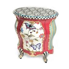mackenzie childs butterfly accent chest