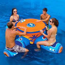 floating table for pool aqua table wow world of