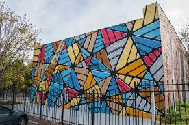 Mural Project by Elevate South Broad Mural Projects Atlanta Hense Push Tilt Sever