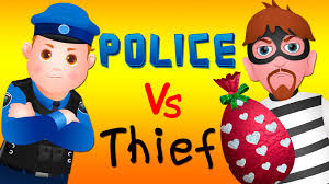 happy halloween birthday graphics chuchu tv police chase thief in police car save huge birthday egg