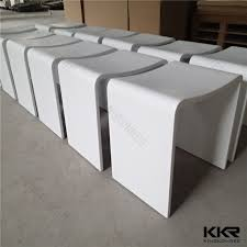 acrylic solid surface bathroom bench bathroom stool view