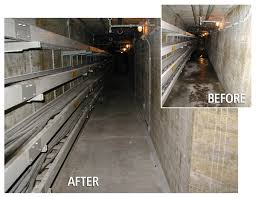 Basement Dewatering System by Electro Chemical Dewatering System Structural Group