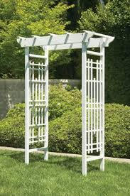 wedding arches outdoor greenstone white wedding arbor garden wooden