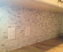 Marble Mosaic Backsplash Tile by Ceramictec White Carrara Mini Brick Marble Mosaic Back Splash
