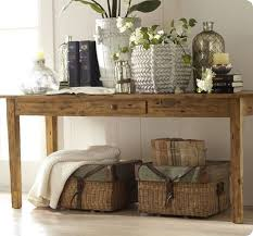 Reclaimed Wood Console Table Pottery Barn Best 25 Pottery Barn Entryway Ideas On Pinterest Pottery Barn