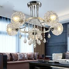 large ceiling lights and 5 light glass