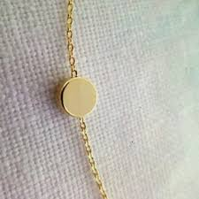 necklace with simple pendant images Jewelry simple dot dainty pendant necklace poshmark jpg