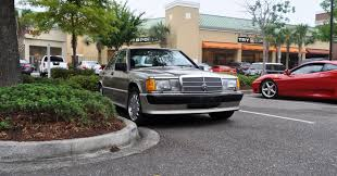charleston cars and coffee gallery 1989 mercedes benz 190e 2 3