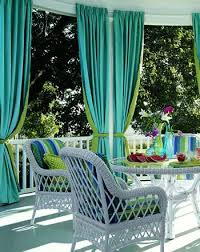 Outdoor Curtains With Grommets 14 Best Grommet Panels With Fun Tie Backs Images On Pinterest