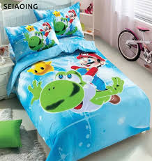 Mario Bros Bed Set Popular Mario Comforters Buy Cheap Mario Comforters
