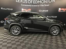 used 2018 lexus nx 300 4 door sport utility in edmonton ab l14125
