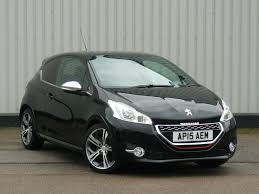 peugeot 208 gti blue used peugeot 208 gti for sale motors co uk