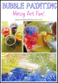bubble painting with straws u2013 indoor messy art fun perfect for a