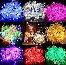 cheap led strips 10m string decoration light 110v 220v for