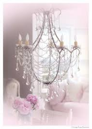 Shabby Chic White Chandelier Shabby Chic Candle Chandelier Foter