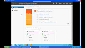 server manager features and how to setup windows server 2012 r2