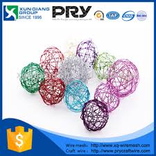 sale metal wire balls colored craft wire buy craft wire