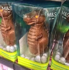 chocolate dinosaur egg dinosaur easter eggs singletrack magazine