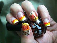 candy corn nail toes u0026 fingers pinterest candy corn nails