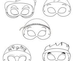 neverland pirates printable masks printable pirate mask