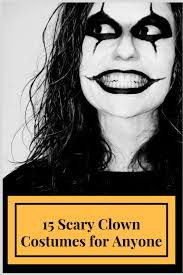 Scary Clown Costumes Halloween 15 Scary Clown Costumes Halloween Brandy Ellen Writes
