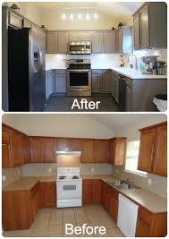 Refurbish Kitchen Cabinets Decorating Your Your Small Home Design With Awesome Trend