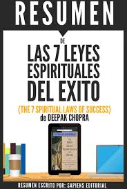 las 7 leyes espirituales del exito the 7 spiritual laws of