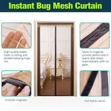 French Door Screen Curtain Ikstar Magnetic Mesh Screen Door For Patio Door French Door
